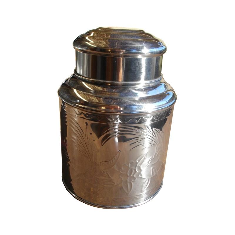 boîte à thé métal decor 500g