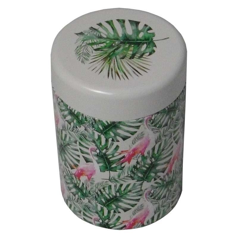 boîte à thé métalique