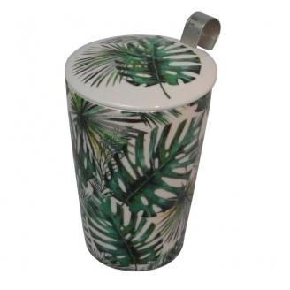 lot tisanière boîte à thé Jungle