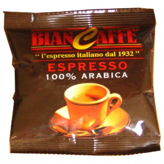 Arabica 100% Biancaffe Dosette ESE