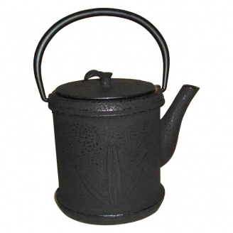Théière Fonte Noire Bambou 0,8 L