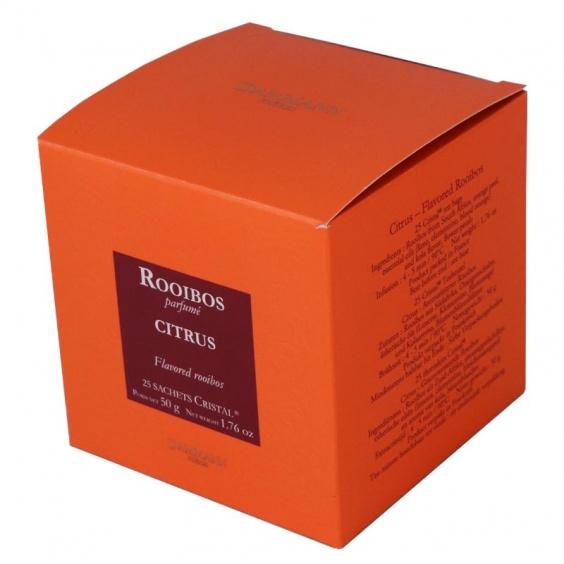 Rooibos Citrus - Boîte de 25 sachets