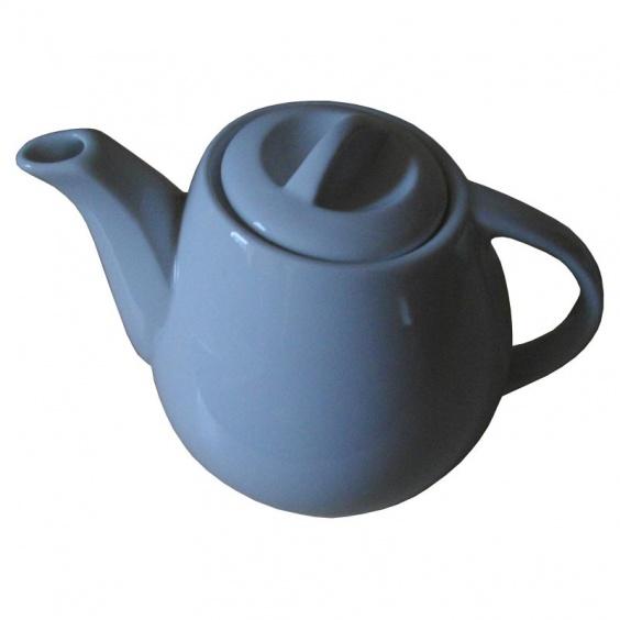 Théière Boule Porcelaine Blanche 0,60 L