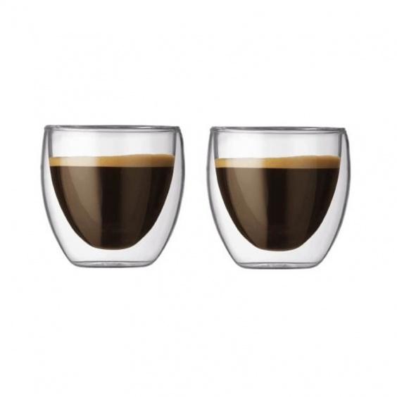 Verre à Café Pavina Double paroi  8 cl par 2