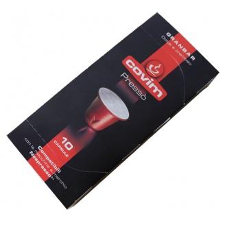 gran bar capsule compatible nespresso covim presso