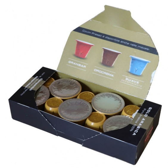 Gold Arabica Capsule Compatible Nespresso ® Covim Presso