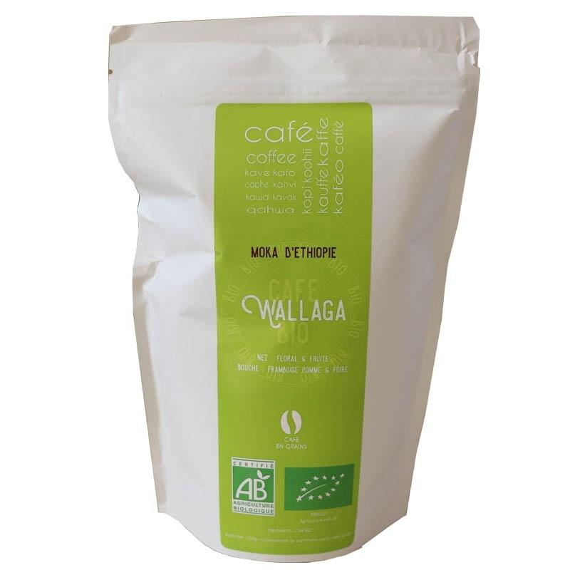 Wallaga Moka d'Ethiopie Bio -  Café Grains