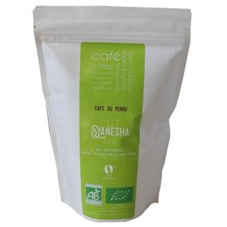 cafe grains yanesha pérou bio