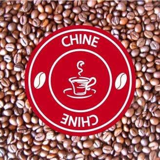 chine simao cafe grains pure origine