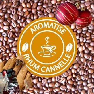 cafe grains de noel aromatise rhum cannelle