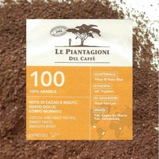 Mélange 100 Le Piantagioni - Café Moulu