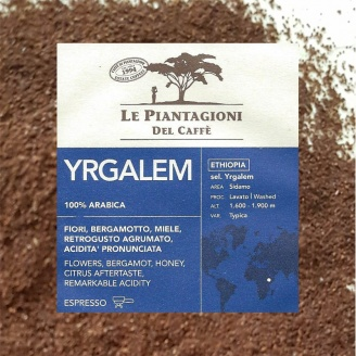 Yrgalem Le Piantagioni - Café Moulu
