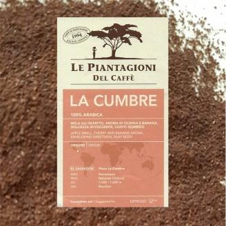 café moulu la cumbre le piantagioni