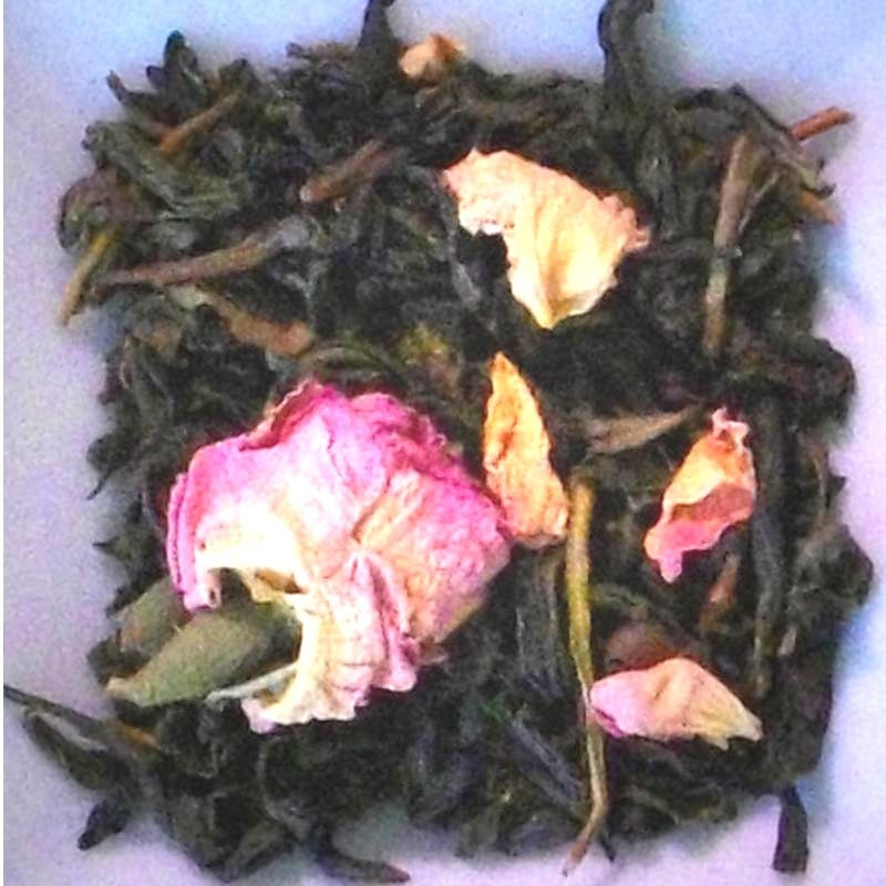 thé vert à la rose bio