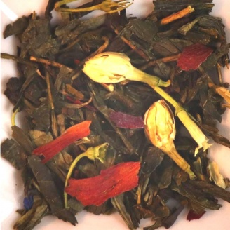 vente thé en feuilles Thé Vert Bali