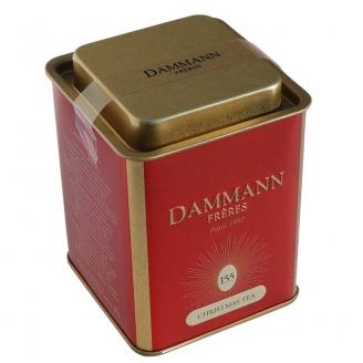 Christmas Tea Boîte de 90 g de thé noir aromatisé en feuilles