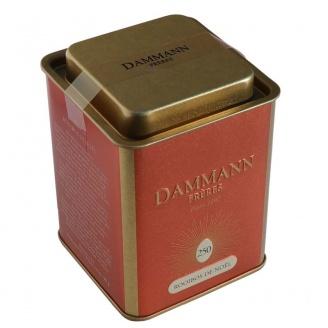 vente thé noël Boîte de 100 g de thé rouge aromatisé en feuilles