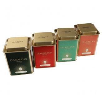 boîtes de thés rooibos et tisane de noel