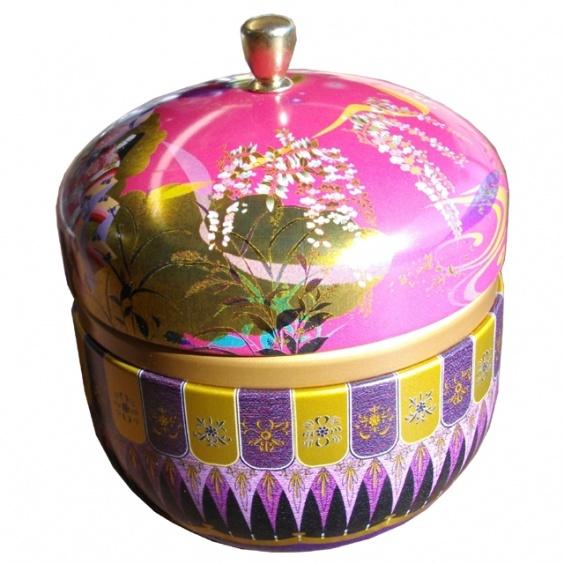 Boîte à Thé Hanami Rose 100g