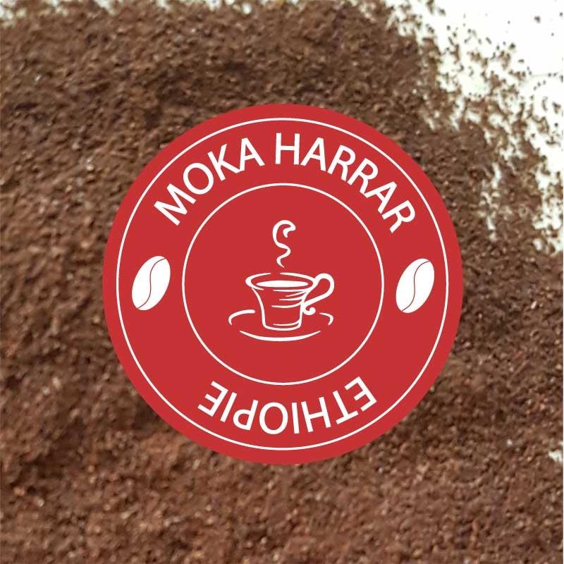 cafe moulu pure origine moka harrar pas cher