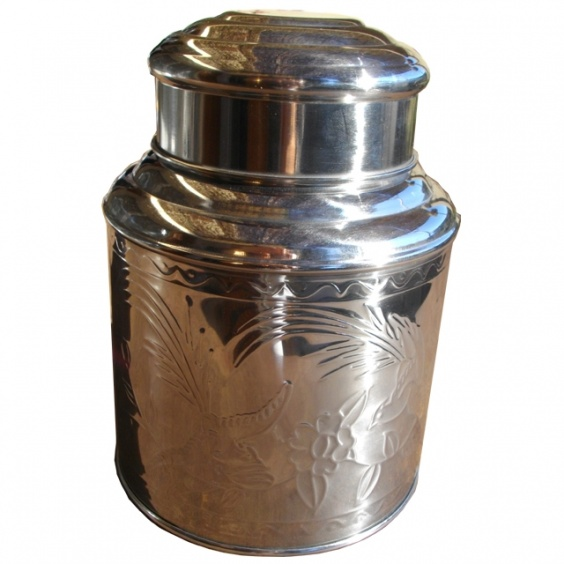 Boîte à Thé Métal Décor 1,5kg