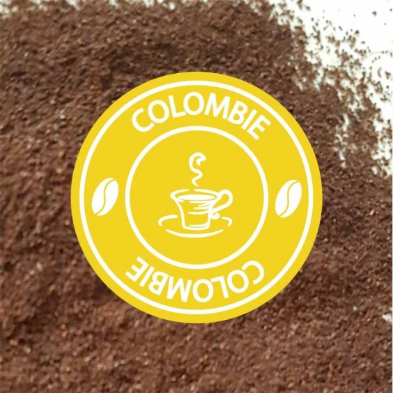 Colombie - Café Moulu Pure Origine