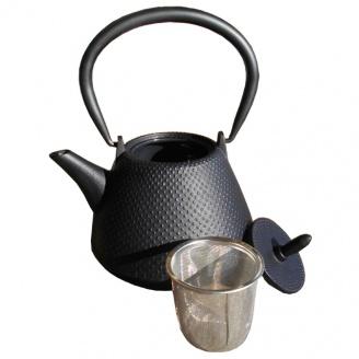 theiere dome arare noire 1L
