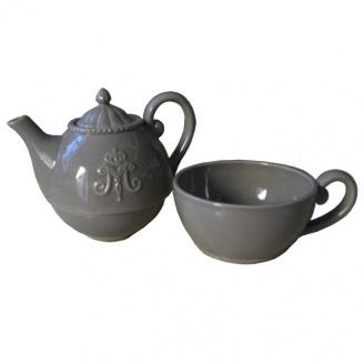 solitaire ceramique gris