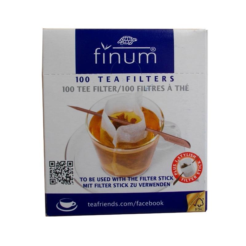 filtre à thé Jetable avec stick