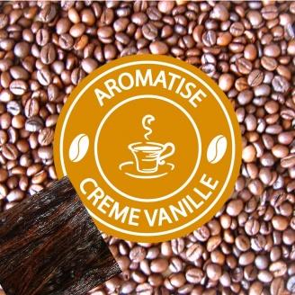 Café Grains Aromatisé Crème de Vanille