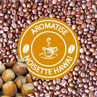 vente café grains aromatisé noisette