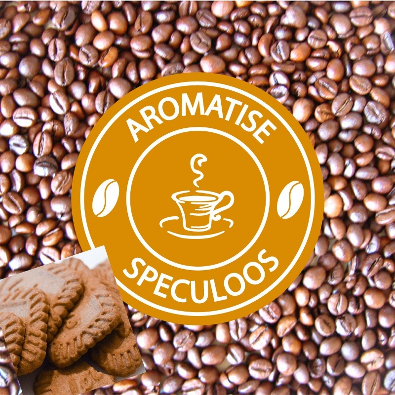 vente cafe grains aromatise speculoos