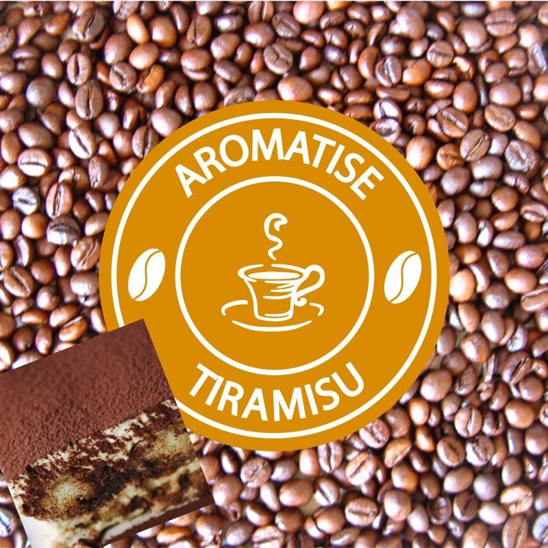 vente cafe grains aromatise tiramisu