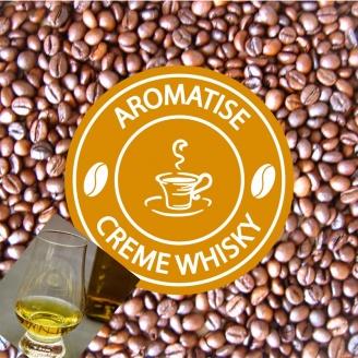 café grains aromatisé crème de whisky