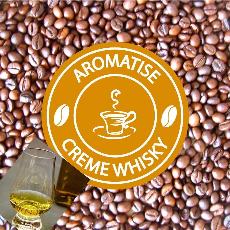 cafe grains aromatise creme de whisky