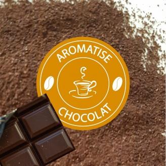 cafe moulu aromatise chocolat