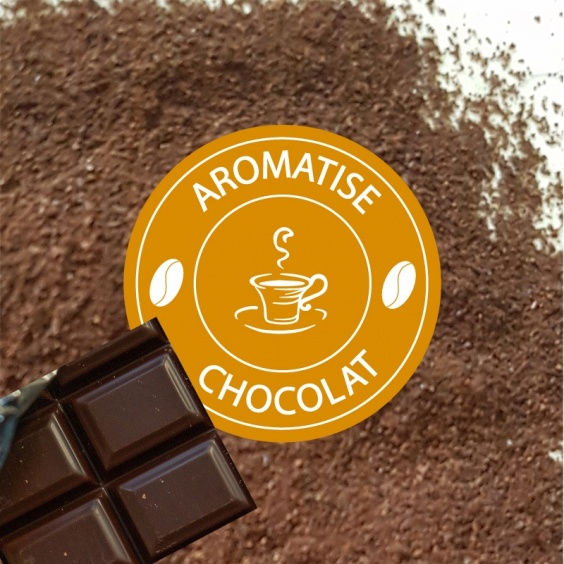 Café Moulu Aromatisé Chocolat
