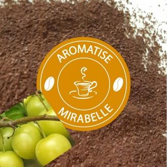Café Moulu Aromatisé Mirabelle