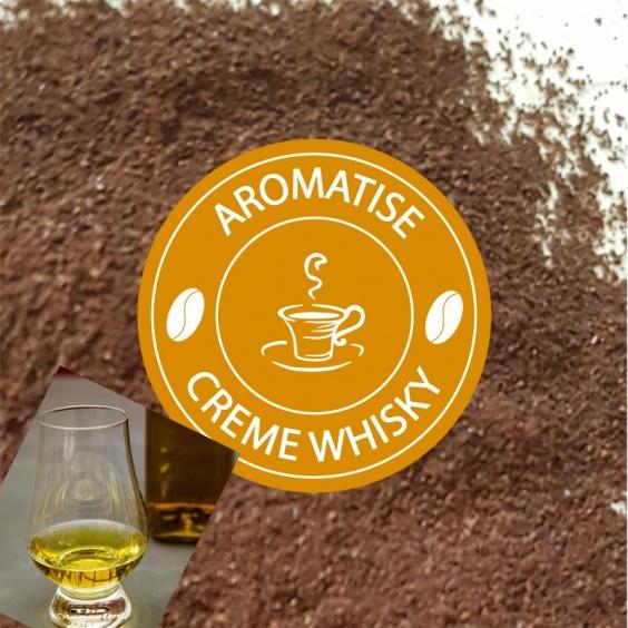 Café Moulu Aromatisé Crème de Whisky