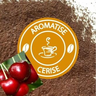 cafe moulu aromatise cerise