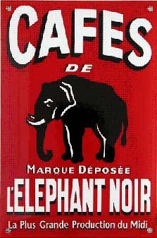 cafe elephant noir