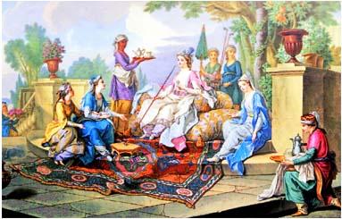dejeuner de la sultane
