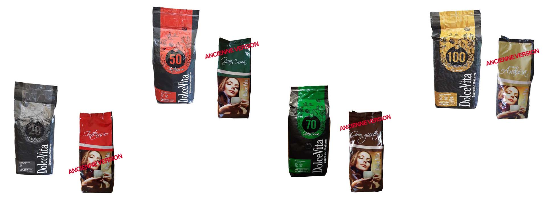 Visuels changements packaging Italfoods