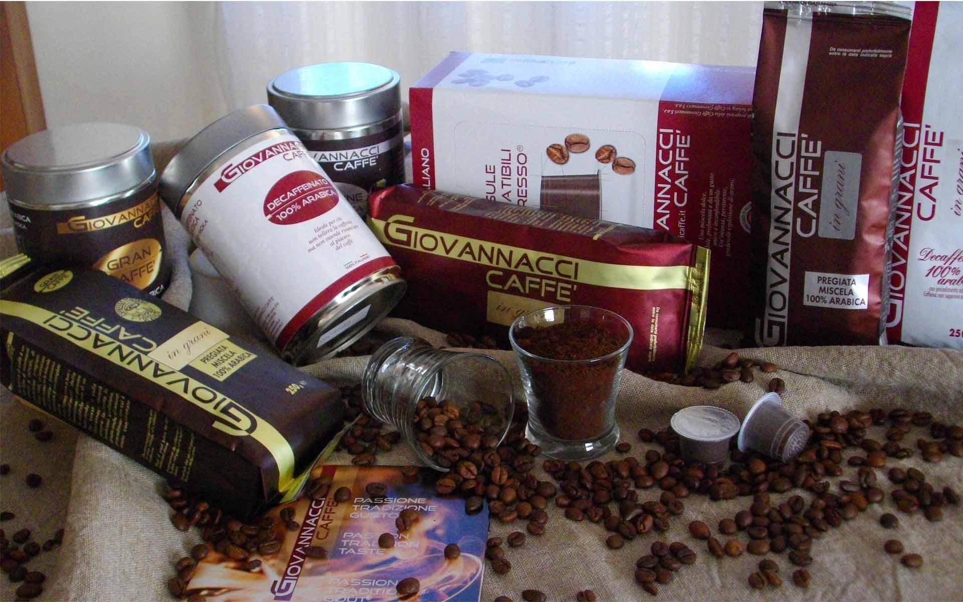 Fournisseur de café italien : Giovannacci